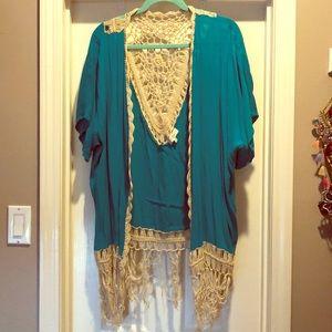 Umgee Crochet Kimono